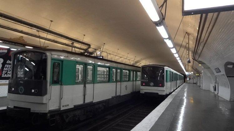 Paris Métro Line 3 Paris Metro Line 3 bis MF 67 YouTube