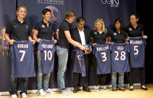 Paris Saint-Germain Féminines PSG Les nouvelles ambitions des fminines