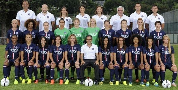 Paris Saint-Germain Féminines Women team presentation Woman Team PSGfr
