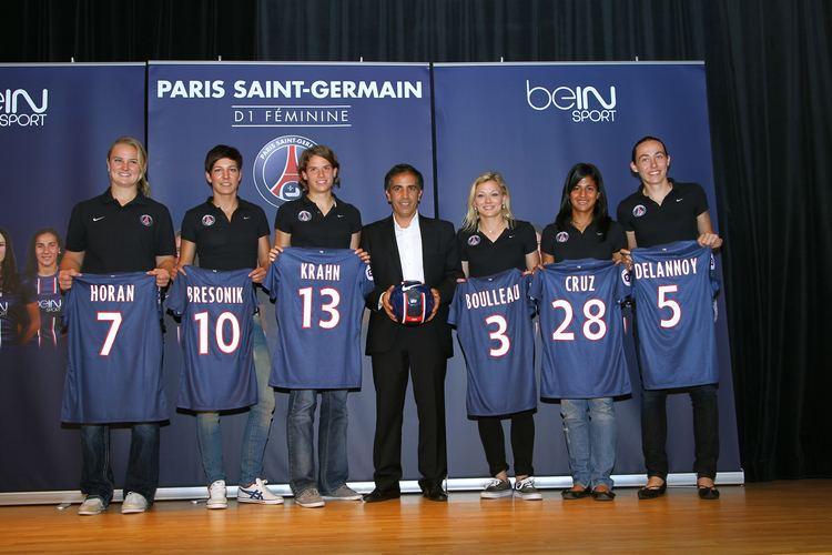 Paris Saint-Germain Féminines PSG Fminine Un budget de 45 millions et des partenariats avec