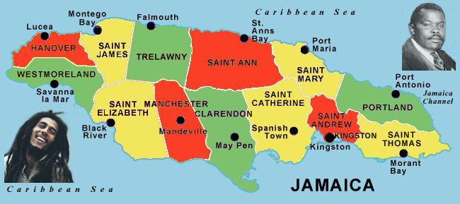 Parishes of Jamaica - Alchetron, The Free Social Encyclopedia
