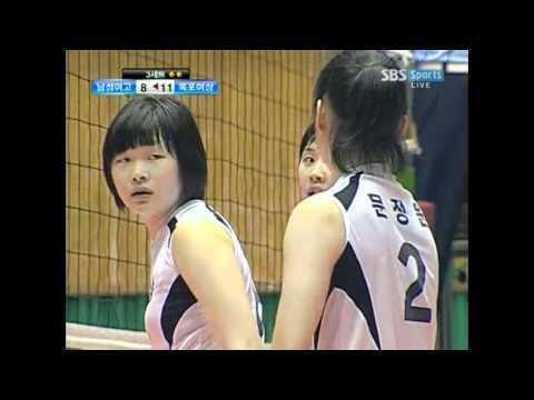 Park Jeong-ah (volleyball) Park JeongAh in Korean High School Volleyball Championship 12