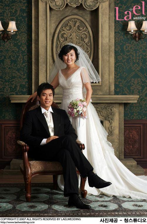 Park Kyung-lim Park Kyung Lim39s wedding photo POPSEOUL