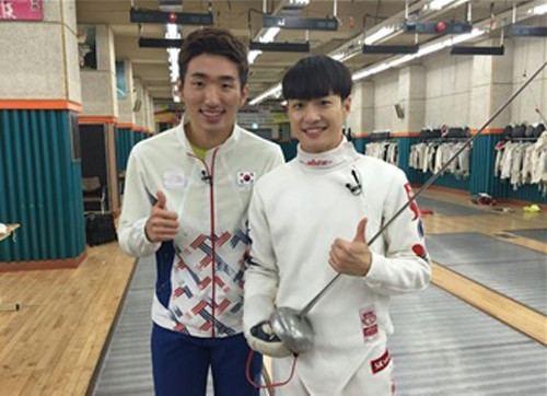 Park Sang-young BIGSTARs Feeldog Meets Fencing Olympic Gold Medalist Park Sang