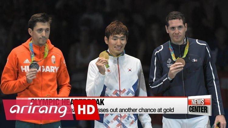 Park Sang-young Rio 2016 Fencer Park Sangyoung brings back golden feeling to Team
