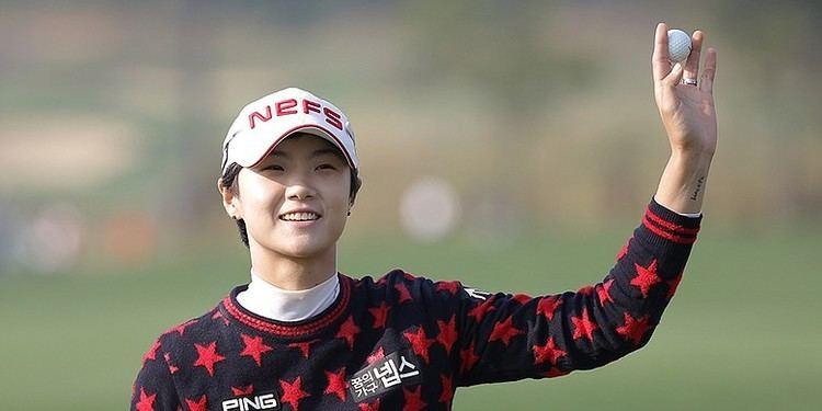 Park Sung-hyun GOLFWEEK LPGA KEB Hana Bank Championship 2015 and Sung