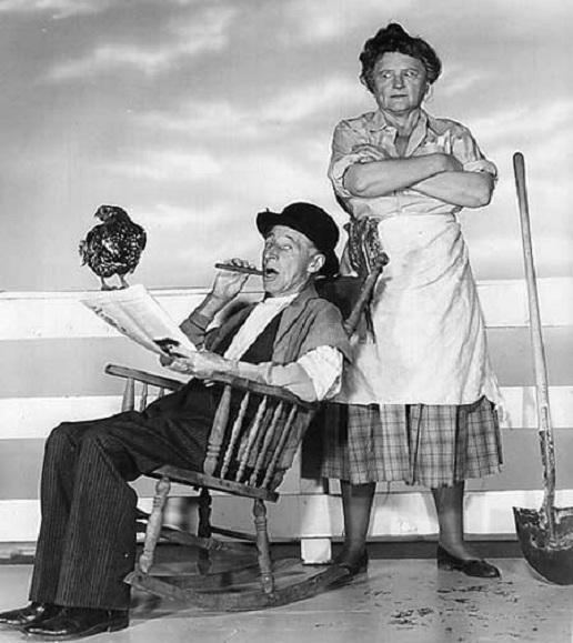 Parker Fennelly Marjorie Main and Parker Fennelly Maw and Pa Kettle