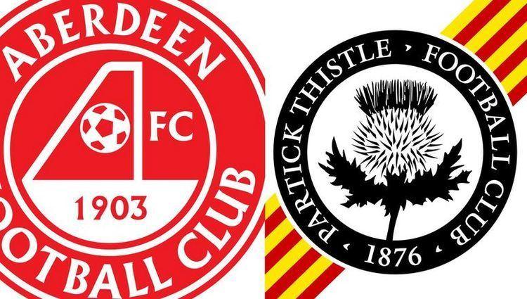 Partick Thistle F.C. Aberdeen v Partick Thistle Aberdeen FC