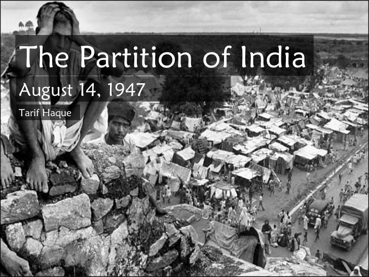 Partition of India Partition Of India