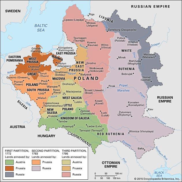 Partitions of Poland httpsmedia1britannicacomebmedia553555004