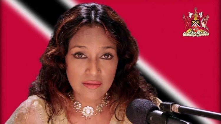 Parvati Khan Parvati Khan in a moving rendition of the Trinidad