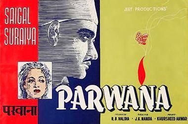 Parwana (1947 film) movie poster