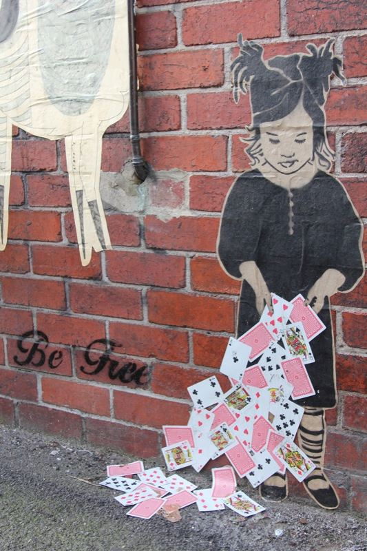 Paste up FileMelbourne paste up be freejpg Wikimedia Commons