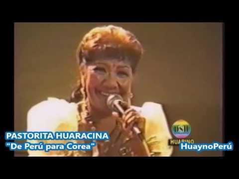 Pastorita Huaracina Pastorita Huaracina canta en idioma Coreano YouTube
