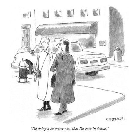 Pat Byrnes New Yorker Cartoon by David Sipress Cartoon Pinterest Lost