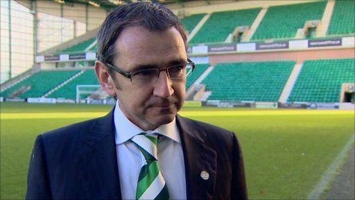 Pat Fenlon BBC Sport Hibernian appoint Pat Fenlon as new manager