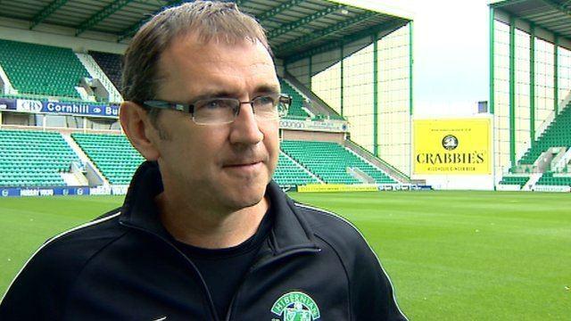 Pat Fenlon BBC Sport Hibs boss Pat Fenlon wants winger to help end