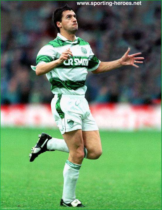 Pat McGinlay Pat McGINLAY League appearances Celtic FC