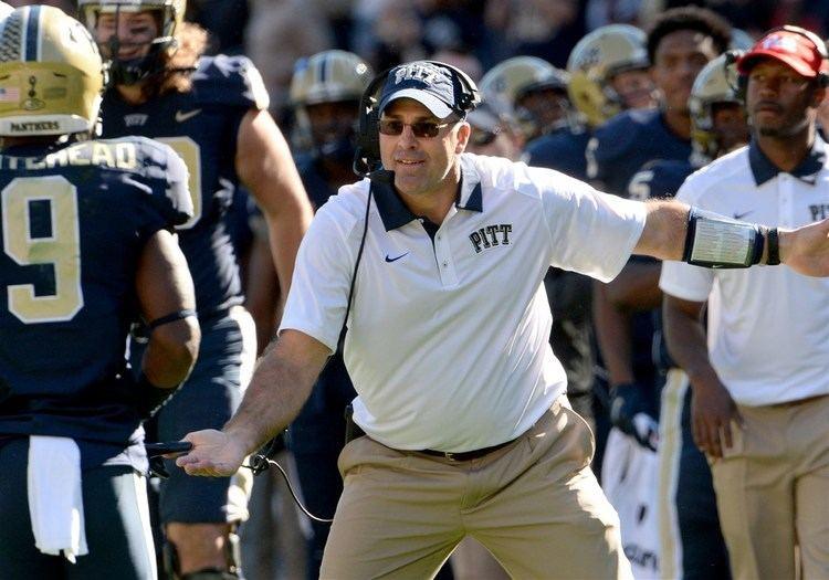 Pat Narduzzi Pitt football notebook Narduzzi takes jab at Penn State