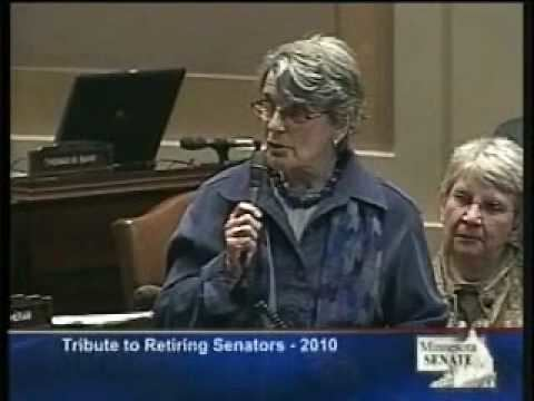 Pat Pariseau Senator Pat Pariseau Retirement Speech on MN Senate Floor YouTube