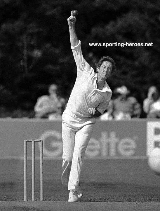 Pat Pocock Test Profile 196885 England