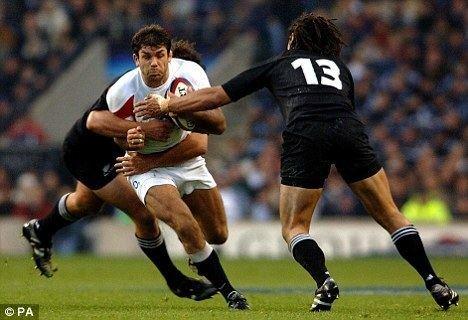 Pat Sanderson Shoulder injury forces former England captain Sanderson to