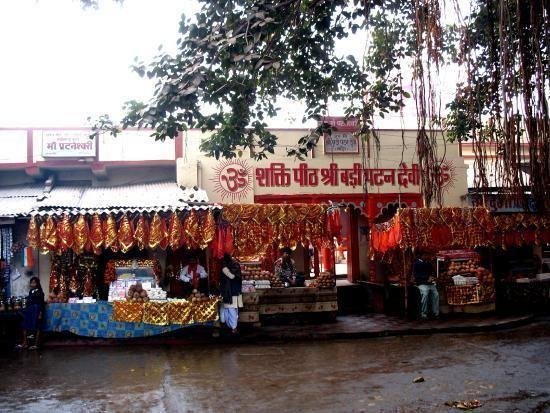 Patan Devi Main DeviMahakali Mahasarwasati amp Mahalaxmi Picture of Patan