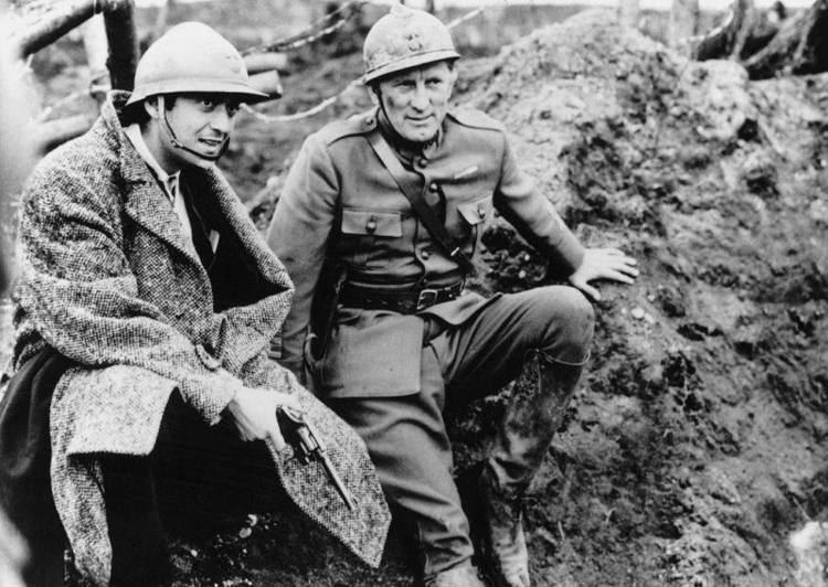 Paths of Glory movie scenes Behind the Scenes Paths of Glory 1957