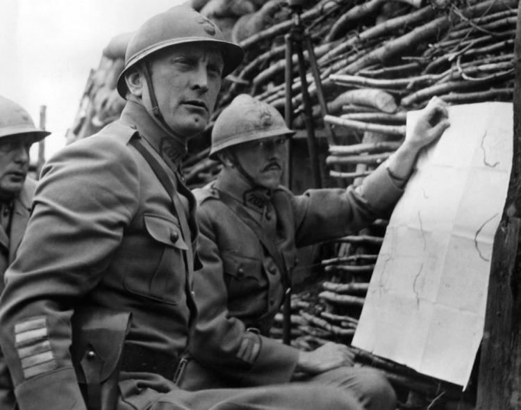 Paths of Glory movie scenes Courtesy Everett Collection