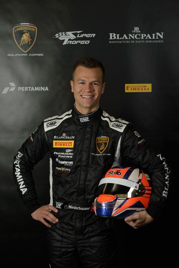 Patric Niederhauser Patric Niederhauser lt Series 2015 lt Drivers lt Super Trofeo