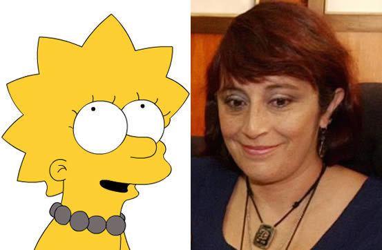Patricia Acevedo lolo Patricia Acevedo la actriz detrs de la voz de Lisa Simpson