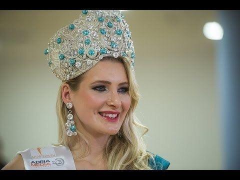 Patricia Peklar Patricia Peklar Crowned Miss Earth Slovenia 2014 YouTube