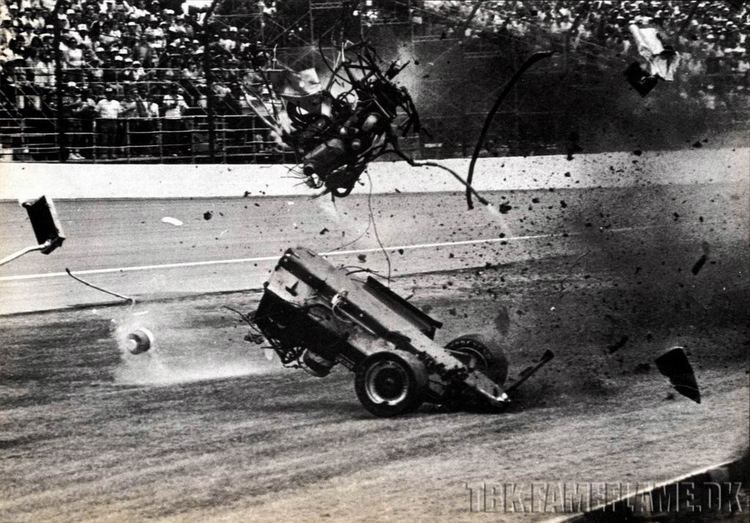 Patrick Bedard Patrick Bedards Indy 500 1984 crash Motorsport Pinterest