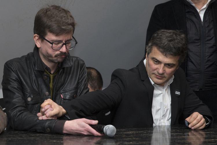 Patrick Pelloux Aprs Luz Patrick Pelloux annonce son dpart de Charlie