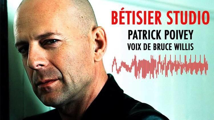Patrick Poivey Patrick Poivey voix de Bruce Willis Btisier studio