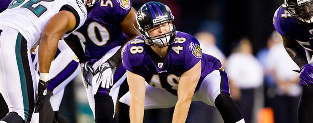 Patrick Scales Ravens Change Long Snappers Sign Patrick Scales