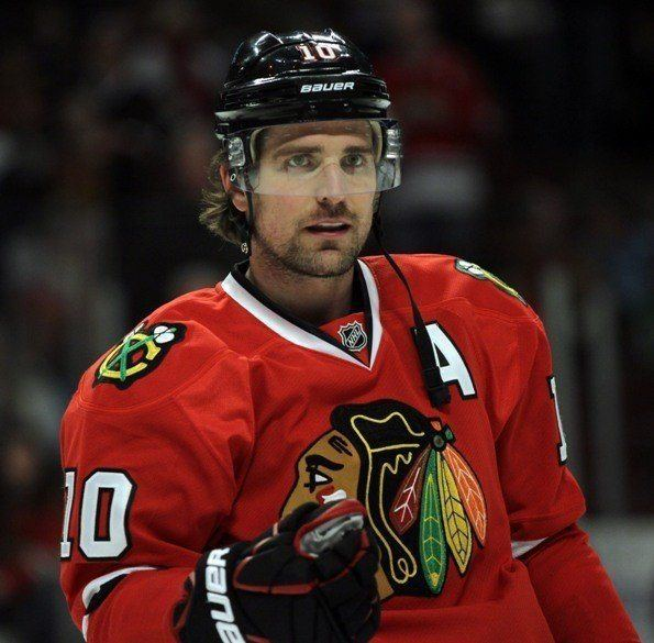 Patrick Sharp Hockey from across the Pond Patrick Sharp Traded From