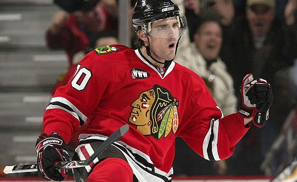 Patrick Sharp A Handsome Season Patrick Sharp