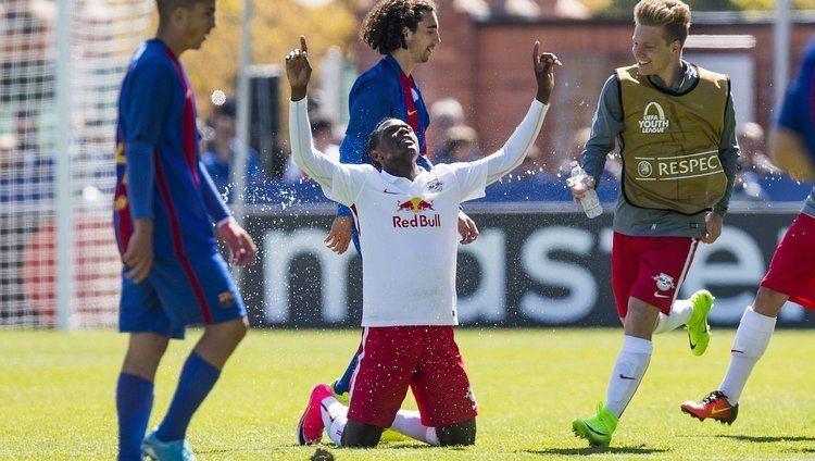 Patson Daka Patson Daka Denies Barca B UEFA Final Spot Zambia Reports