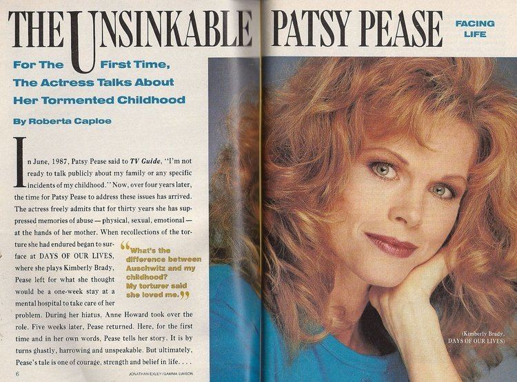 Patsy Pease Patsy Pease Days of Our Lives Emma Samms J Eddie Peck Vincent