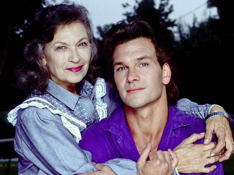 Patsy Swayze Patrick Swayze39s mother who taught him to dance dies at