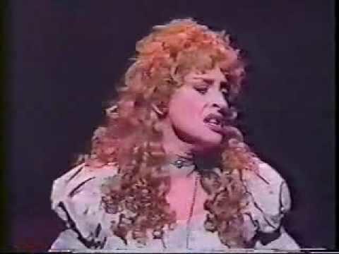 Patti LuPone Patti LuPone I Dreamed A Dream 1992 YouTube