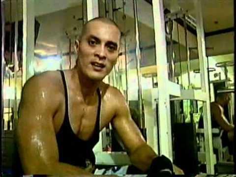 Paul Alvarez Bong Alvarez weight training YouTube