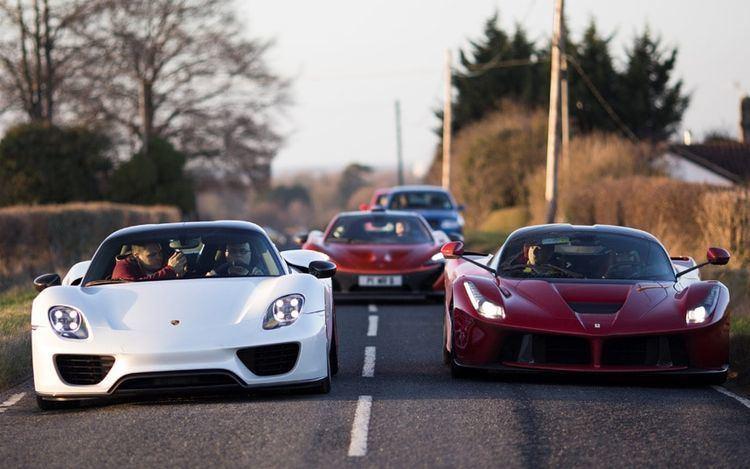 Paul Bailey Businessman buys 3m 39Holy Trinity39 of supercars Telegraph