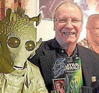 Paul Blake (actor) El actor Paul Blake participar en el desfile de Star Wars en Santiago
