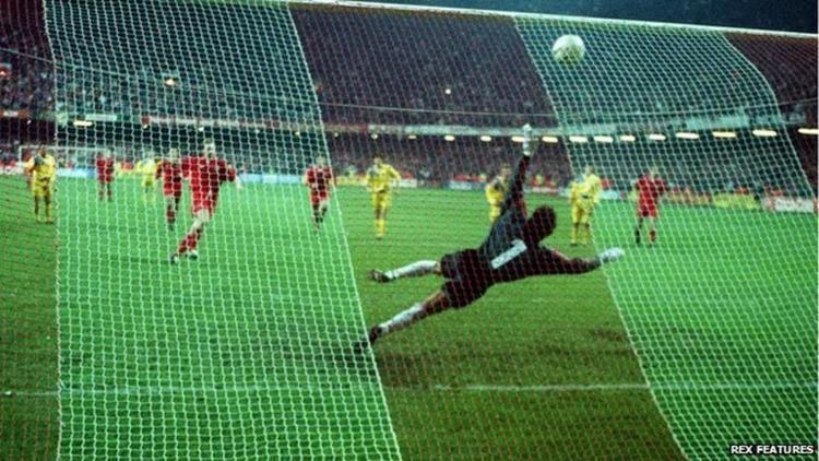 Paul Bodin Euro 2016 countdown Paul Bodin misses penalty as Romania end Wales