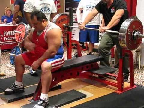Paul Bossi Paul Bossi 2275kg Bench Press 110kg 5015 lbs 242 2009