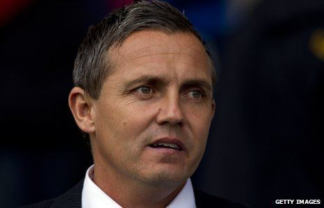 Paul Buckle BBC Sport Manager Paul Buckle defiant on Bristol Rovers stay