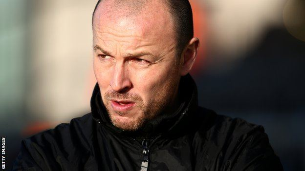 Paul Carden BBC Sport Paul Carden Southport manager leaves National