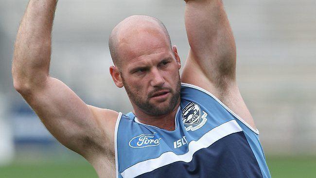 Paul Chapman (footballer) Geelong star Paul Chapman no certainty to play against